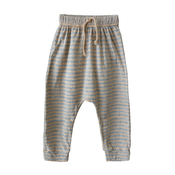 Stone Stripe Harem Pants