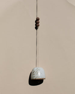 Speckled  ceramic Bell