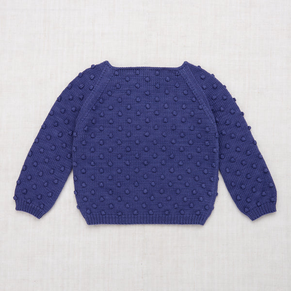 Popcorn sweater - Blue Violet