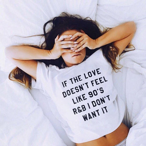 If the love doesn't feel like 90's Women's Short Sleeve T-Shirt