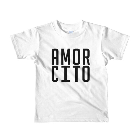 Amorcito- Short sleeve toddler t-shirt