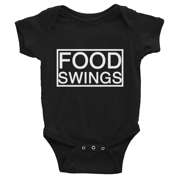 Food Swings onesie Infant Bodysuit