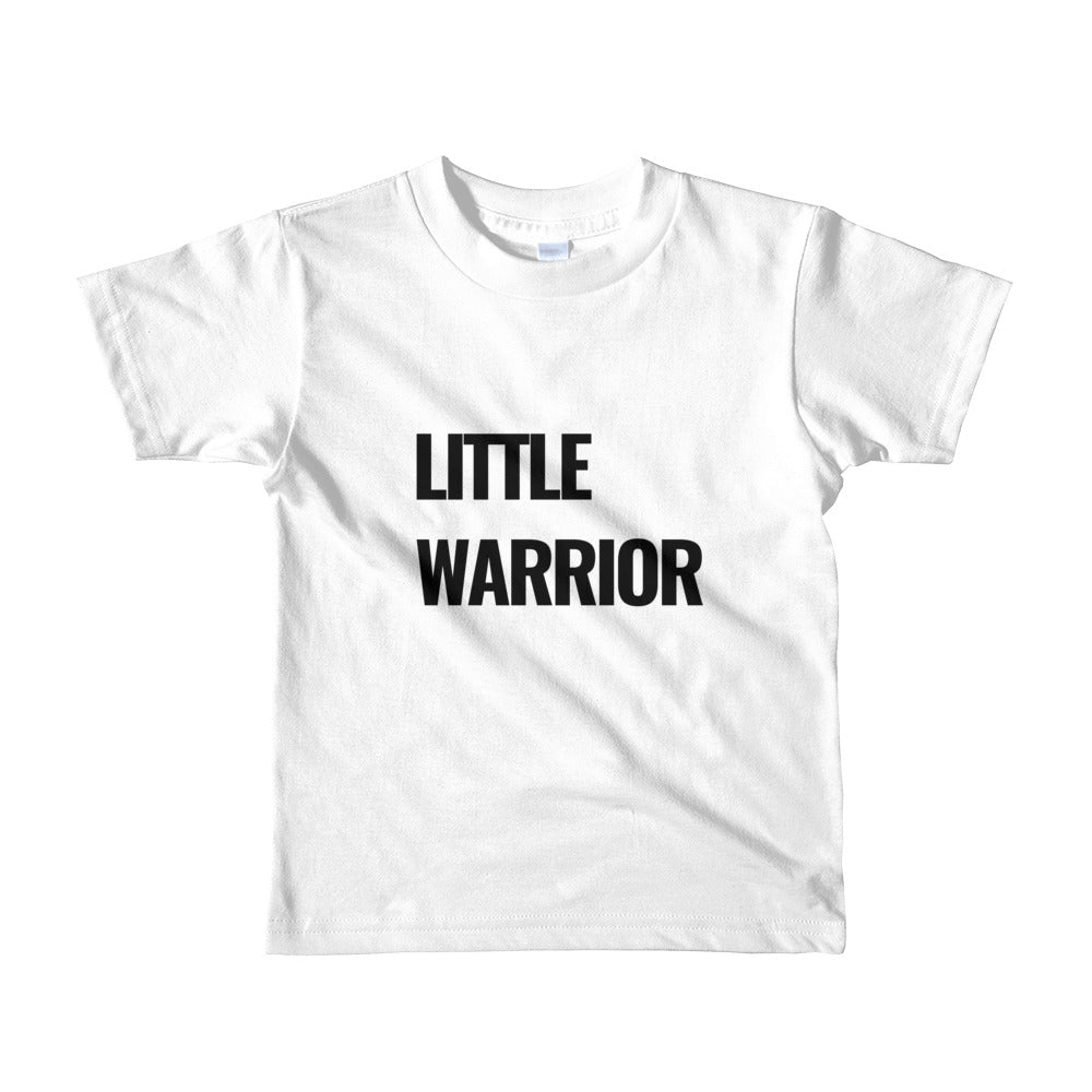 Little Warrior- Short sleeve kids t-shirt