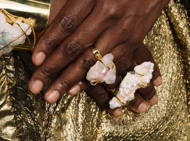PRISMS: Aura Two Finger Ring