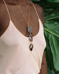 PRISMS: Agate Body Chain