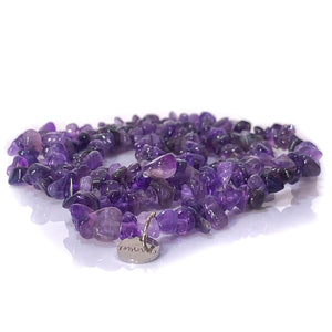 Amethyst Chip Crystal Necklace - Payvand