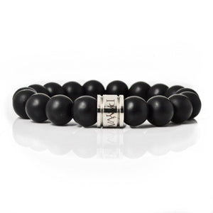 "Black Onyx ""Willpower Bracelet"" - Payvand"