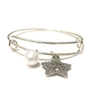 Adjustable Bangle with Charms - Payvand
