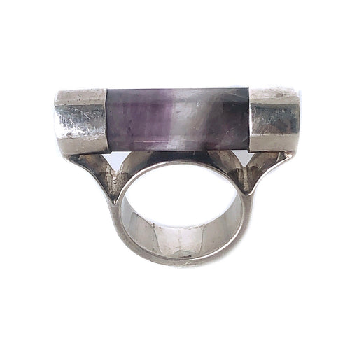 Amethyst Sterling Silver Ring - Payvand