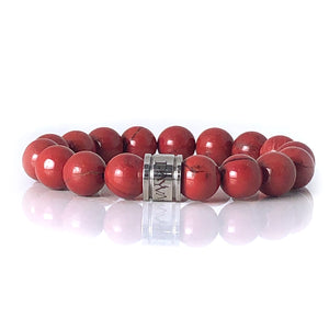 "Red Jasper ""Fire And Passion Bracelet"" - Payvand"