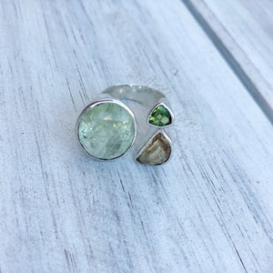 Calcite Sterling Silver Ring - Payvand