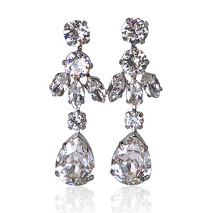 Sura Swarovski Earrings - Payvand