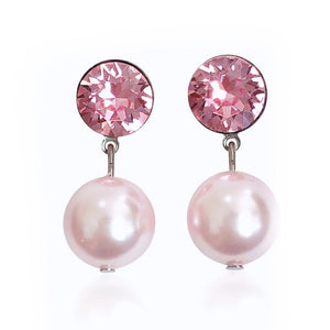 Farah Pink Earrings - Payvand
