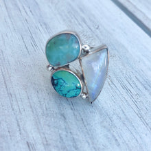 Summer Vibes Sterling Silver Ring - Payvand
