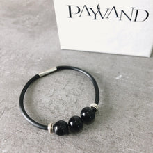 "Black Onyx ""Strength Bracelet"" - Payvand"
