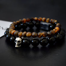 Black Onyx & Tiger Eye Set