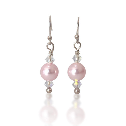 Pink Mermaids Earrings - Payvand