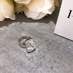 Princess Swarovski Ring - Payvand