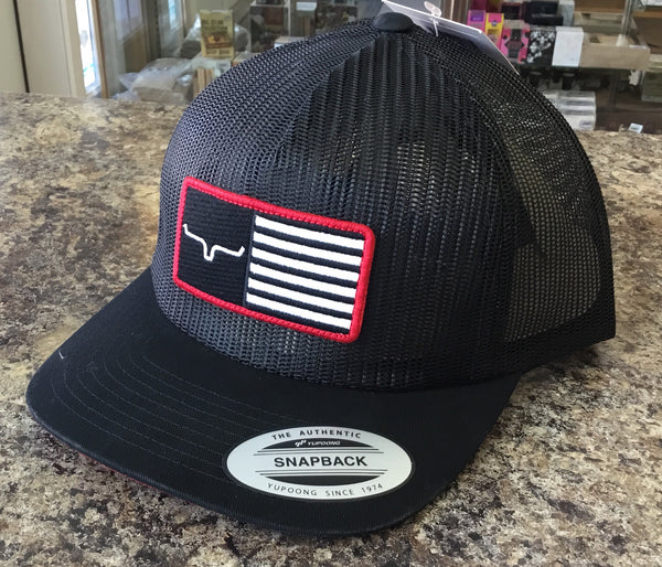 9472b99b6aa07 Kimes Ranch American Airstream Black Cap – The Outfitter Western Store