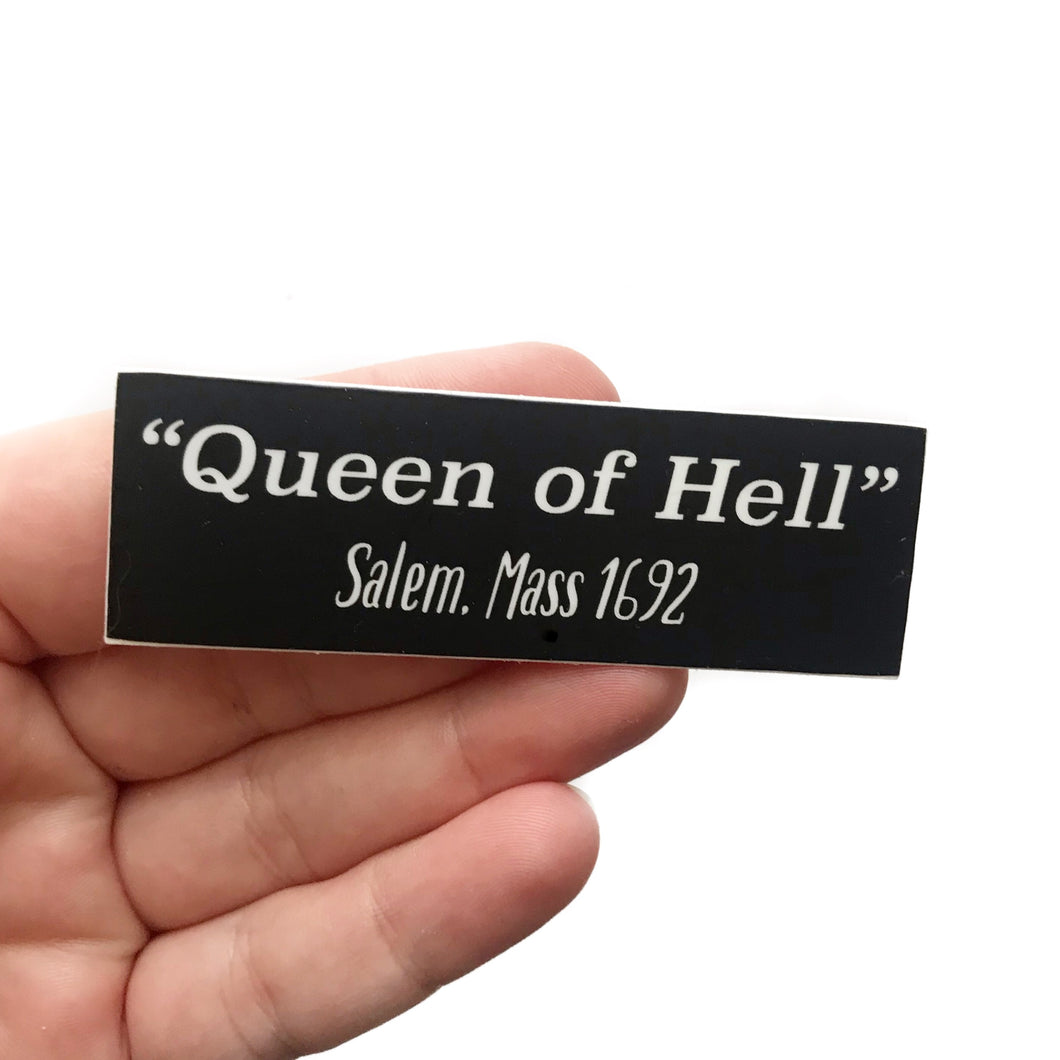 Queen of Hell Sticker