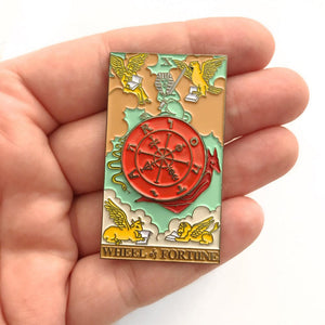 The Wheel of Fortune Pin