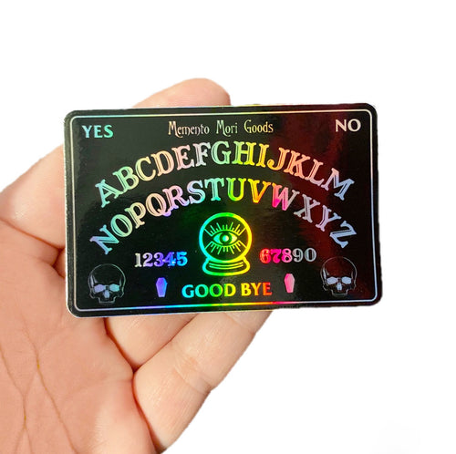 Ouija Holographic Sticker