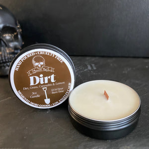 Dirt Candle