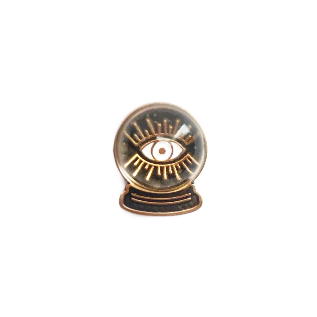 Crystal Ball Pin