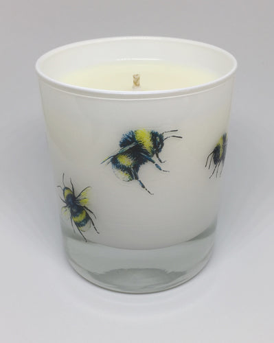 """The Bumble Bee"" soy wax candle - Brown and Co. Durham"