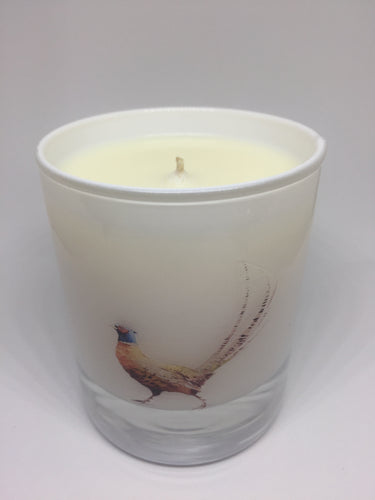 Pheasant lovers candle