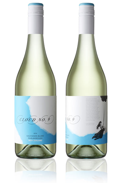 Cloud No.9 Marlborough Sauvignon Blanc 2016 - case buys only [12] $30 per bottle