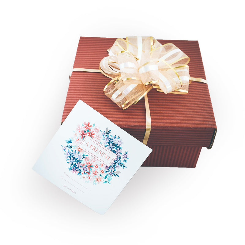Small box + Wrapping + Greeting card (Best for 2 products)