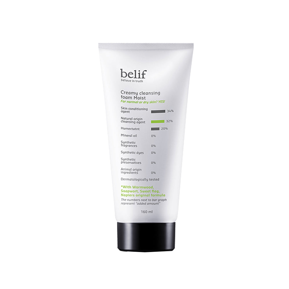 BELIF Creamy Cleansing Foam Moist 160ml