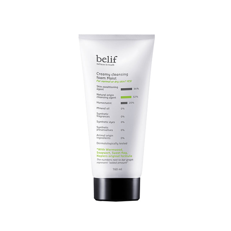 BELIF Creamy Cleansing Form Moist 160ml