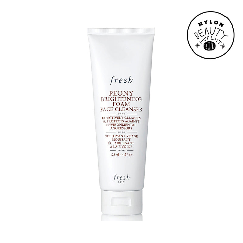 FRESH Peony Brightening Foam Face Cleanser 125ml