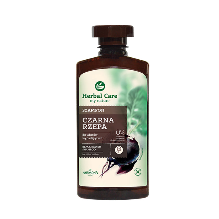HERBAL CARE Natural Herbal Shampoo Black Radish 330ml