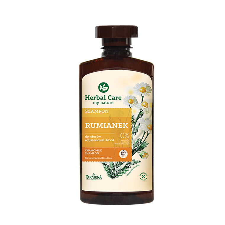 HERBAL CARE Natural Herbal Shampoo Camomile 330ml