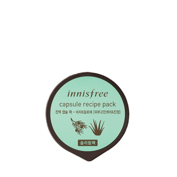 INNISFREE Capsule Recipe Pack (Bija & Tea Tree) 10ml