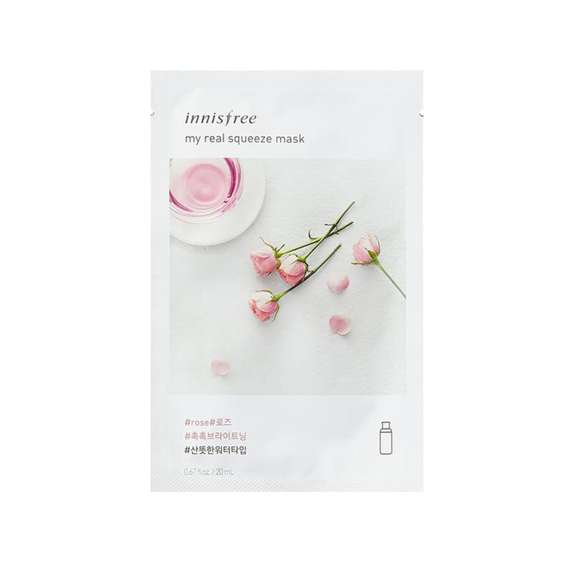 INNISFREE My Real Squeeze Mask - Rose 20ml