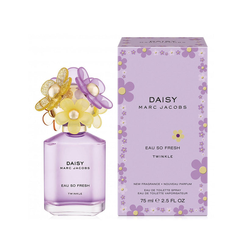 MARC JACOBS DAISY EAU SO FRESH TWINKLE EAU DE TOILETTE SPRAY 75ML