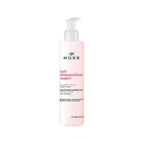 NUXE Comforting Cleansing Milk With Rose Petal 200ml