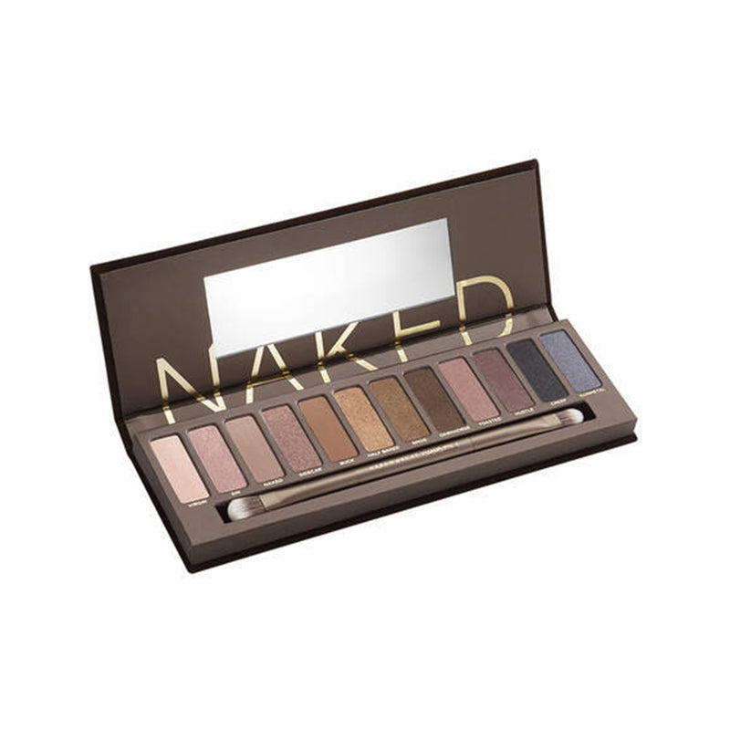 URBAN DECAY New Naked Palette + Brush 12 colours