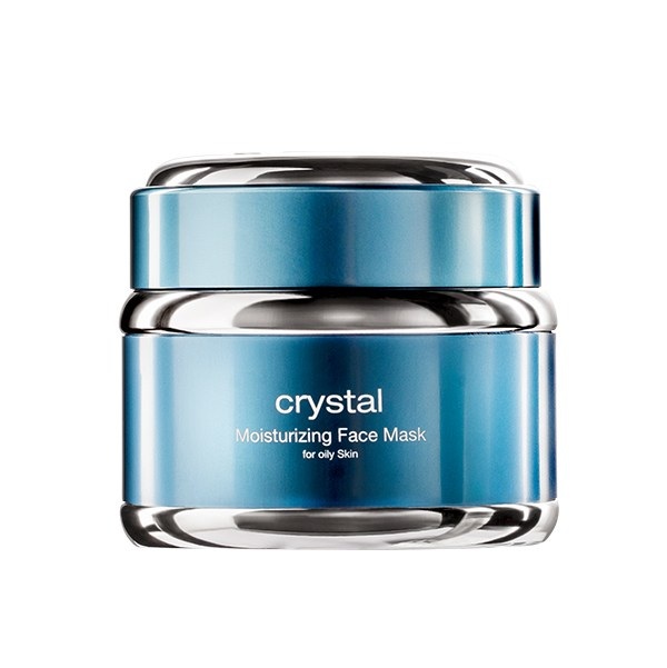 SWISS PRESTIGE COSMETICS Crystal Moisturizing Face Mask (for oily Skin) 50ml