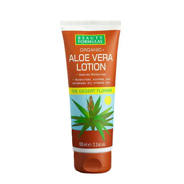 BEAUTY FORMULAS Aloe Lotion 100ml
