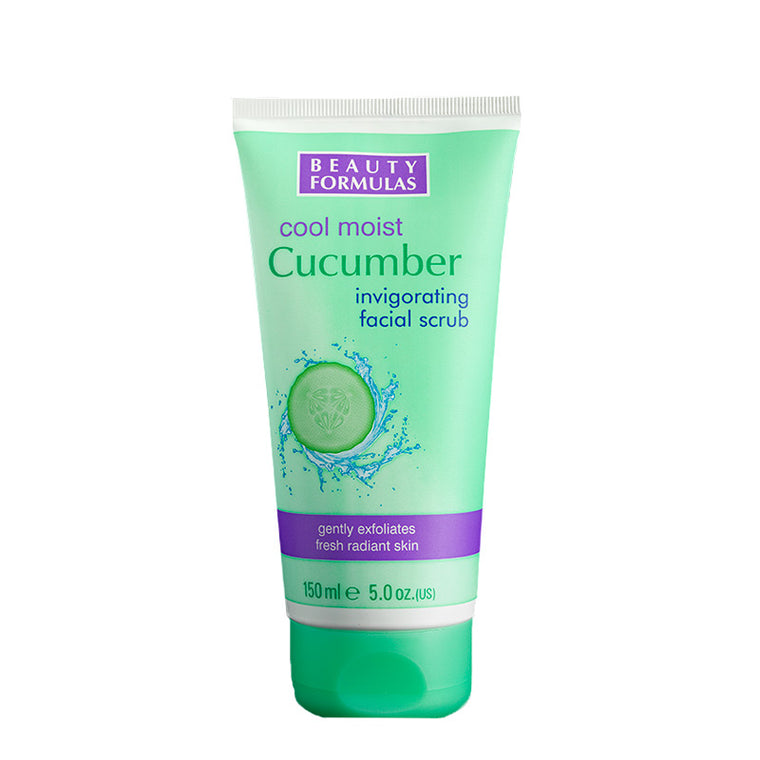 BEAUTY FORMULAS Cucumber Facial Scrub 150ml