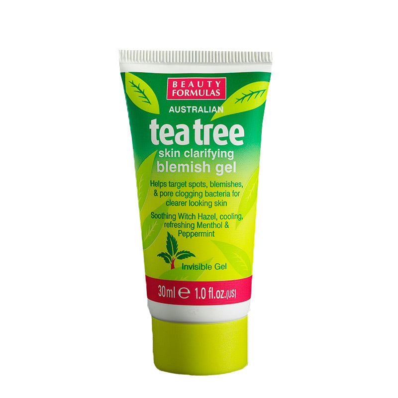 BEAUTY FORMULAS Tea Tree Blemish Gel 30ml