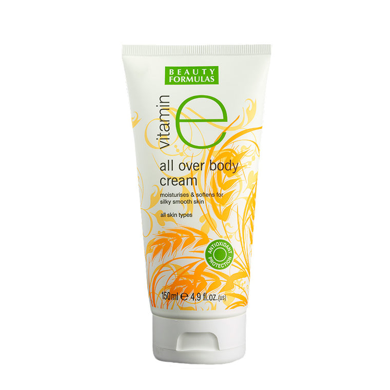 BEAUTY FORMULAS Vitamin E All Over Body Cream 150ml