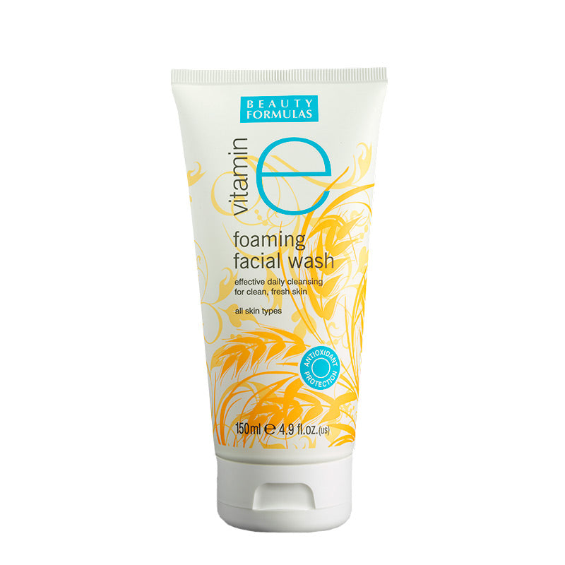 BEAUTY FORMULAS Vitamin E Facial Wash 150ml