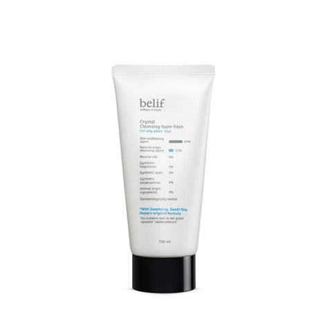 BELIF Crystal Cleansing Foam Fresh 150ml