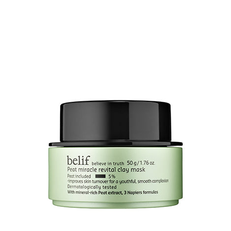 BELIF Peat Miracle Revital Clay Mask 50g